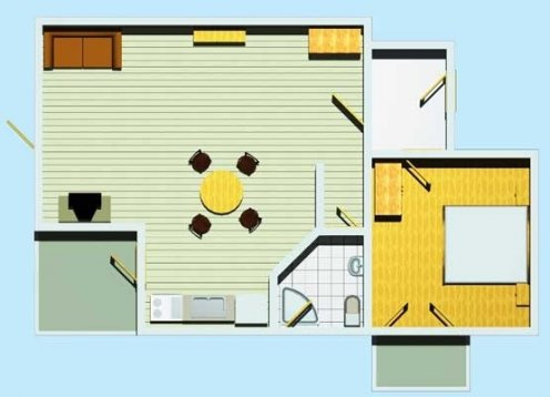 Villa Rossa 2 - Tučepi  AP1 (2+3)